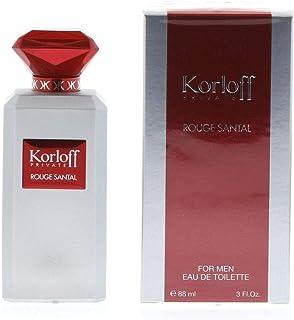 korloff Private Rouge Santal Eau de Toilette for Men
