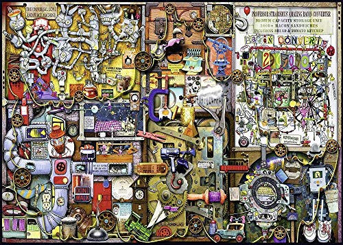 Luck7 Spielzeug-Puzzle Erwachsenenpuzzle Spielzeug Klassische Puzzles bunt Spiele DIY puzzle Technische Zeichnung Geschenk -38 * 52cm-500 Teile