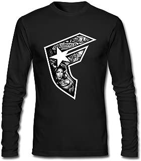 VEBLEN Men's FSAS Famous Stars and Straps Long Sleeve Cotton T Shirt