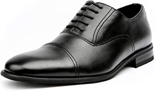 Charles MFA19569L Mens Classic Captoe Lace Up Oxford Casual Dress Shoes