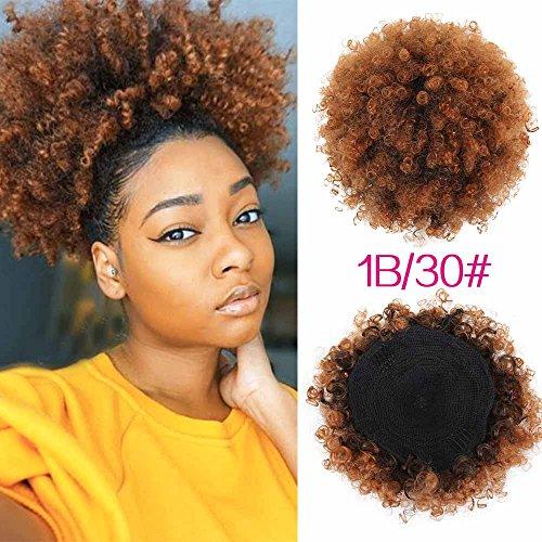 Afro ponytail wig _image0