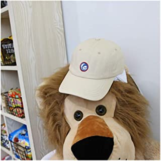 Hats Fashion Letter Cap Sun Hat Wild Hat Female Cartoon Monkey Embroidery Baseball Cap Fashion (Color : Beige, Size : F)