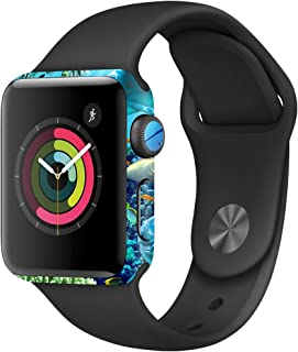 MightySkins Skin Compatible with Apple Watch Series 2 38mm - Ocean Friends | Protective, Durable, and Unique Vinyl Decal wrap Cover | Easy to Apply, Remove, and Change Styles | Made in The USA