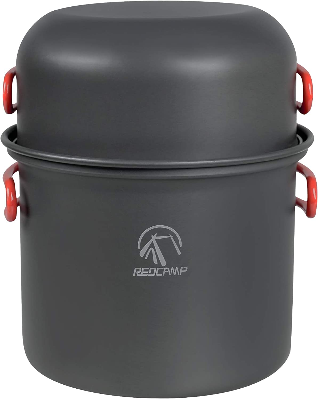 REDCAMP 7 9 12 16 PCS Cheap bargain latest Cookware Camping Set Lightweight Mess Kit