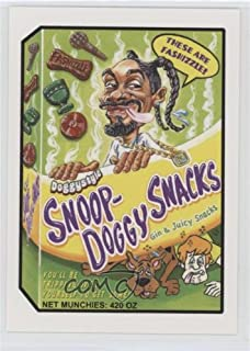 Snoop-Doggy Snacks (Trading Card) 2017 Topps Wacky Packages 50th Anniversary - Rock + Roll Hall of Fame - Blue #9
