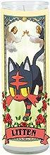 Pokemon Sun and Moon Litten Prayer Candle