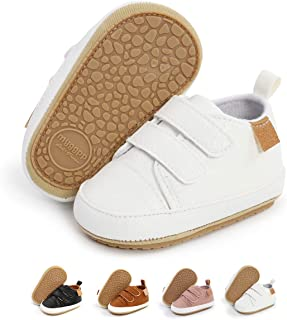 Baby Boys Girls Shoes Infant Sneakers Non Slip Rubber Sole Toddler First Walker Outdoor Tennis Crib Dress Shoes