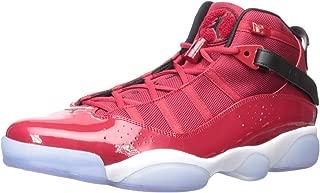 Jordan 322992-601: Men's Gym Red/Black/White 6 Rings Sneakers