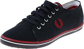 Fred Perry Casual Shoe Fashion Sneakers for Unisex, Size 41 EU, Navy