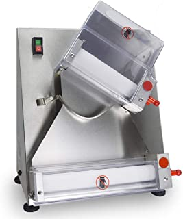 SHANGPEIXUAN Automatic Pizza Dough Roller Sheeter Machine,Making 3''-12''Pizza Dough,Pizza Making Machine,Food Preparation Equipment …