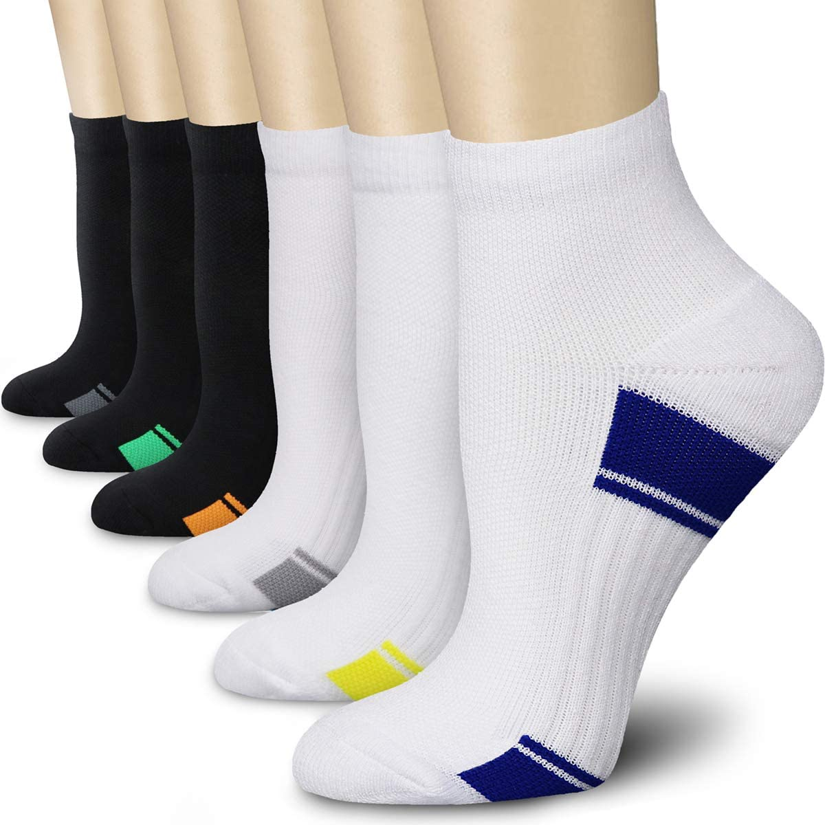 CHARMKING Compression Socks for Women Men Circulation 7 6 Free Shipping New P 3 New item