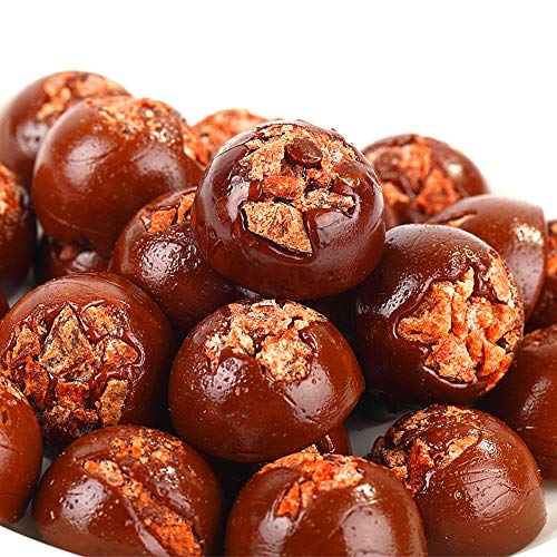 HELENOU666 Chinese Brown Sugar Plum Hard Candy for any Special Moments,Wedding,Baby Shower,Party Times, Halloween 黑糖话梅糖