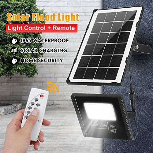 LAMP-XUE 10W LED-schijnwerper buitenshuis waterdicht IP65 zonnelicht sensor lamp-lichtreflector LED-schijnwerper verlichting schijnwerper + afstandsbediening