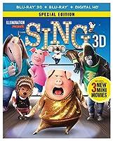 Sing - Special Edition (Blu-ray 3D + Blu-ray + Digital HD + Despicable Me 3 Fandango Cash)