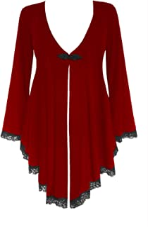 Dare to Wear Victorian Gothic Boho Women's Plus Size Embrace Corset Sweater