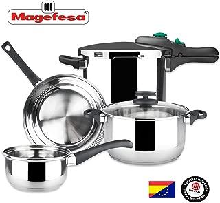 MAGEFESA – Batería de Cocina MAGEFESA Style 4 Piezas +
