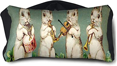Eye Pillow Easter Musical Bunnies Marvellous Eye Bag Bed Unisex Portable Blindfold Train Sleep Protection