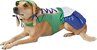 Hyde & Eek Pet Dog Oktoberfest Bavarian German Beer Maiden Girl Dirndl Costume - XL (26 inches)
