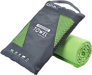 Rainleaf Microfiber Towel Perfect Travel & Sports &Beach Towel. Fast Drying..