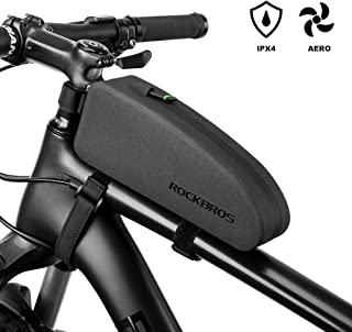 ROCKBROS Top Tube Bike Bag Bicycle Frame Bag Waterproof IPX4 Bike Pouch Bike Tube Bag Bike Front Phone Bag Cycling Accessories Pouch