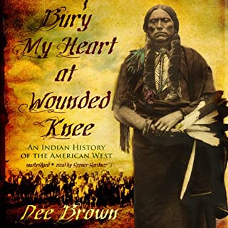 Bury My Heart at Wounded Knee audiobook cover art