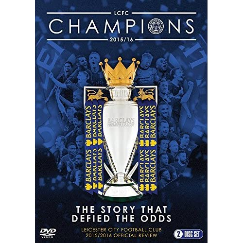 d62731292 Leicester City Football Club: Premier League Champions - 2015/16 Official  Season Review DVD: Amazon.co.uk: DVD & Blu-ray