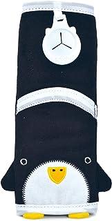 Trunki Kindersitz-Gurtpolster fürs Auto - SnooziHedz - Pinguin Pippin schwarz