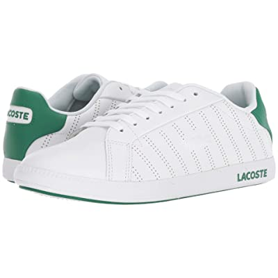 Lacoste Graduate 318 1 (White/Green) Women