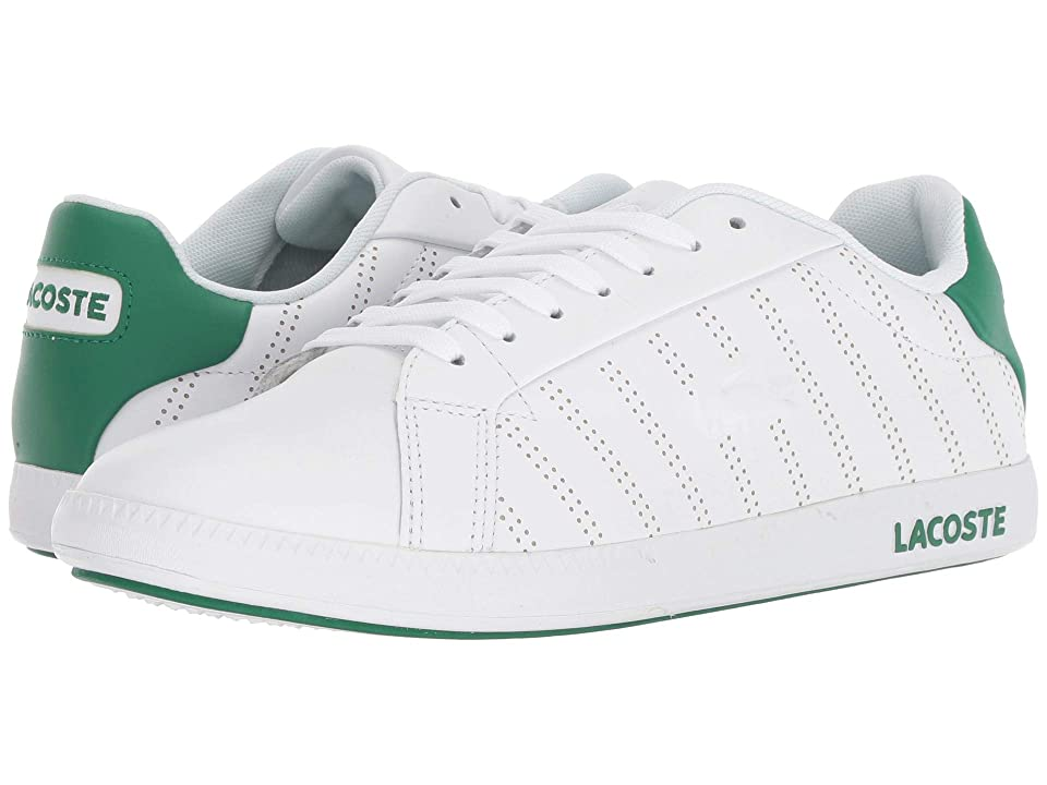 Lacoste Graduate 318 1 (White/Green) Women