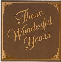 Best those wonderful years cd Reviews