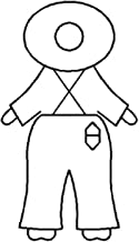 Overall Sam Quilting Stencil - 4