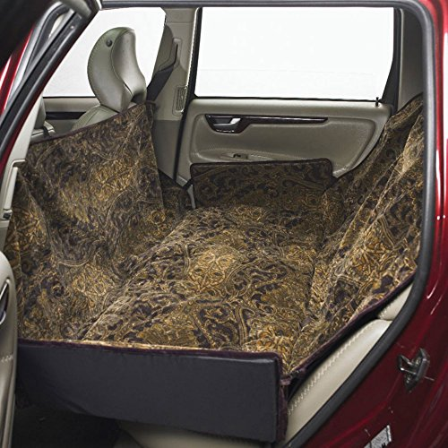Bowsers Luxury Seat Cover for Back Seat/Bench Color: Thunder