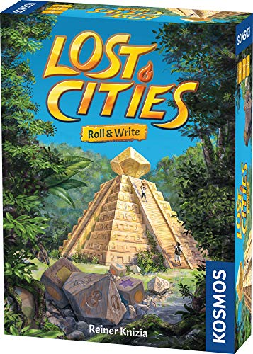 Kosmos 680589 Lost Cities - Roll &...