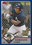 2003 Topps Traded Robinson Cano New York Yankees Baseball Rookie Card #T200. rookie card picture