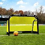 FORZA Pod But de Football Pliable en Aluminium (Choix de Tailles) (1,5m x 0,9m)