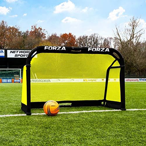 FORZA Fußballtor - Aluminium POD faltbares Fussball-Tor - EIN hochwertiges und stabiles Tor (1,5m x 0,9m)