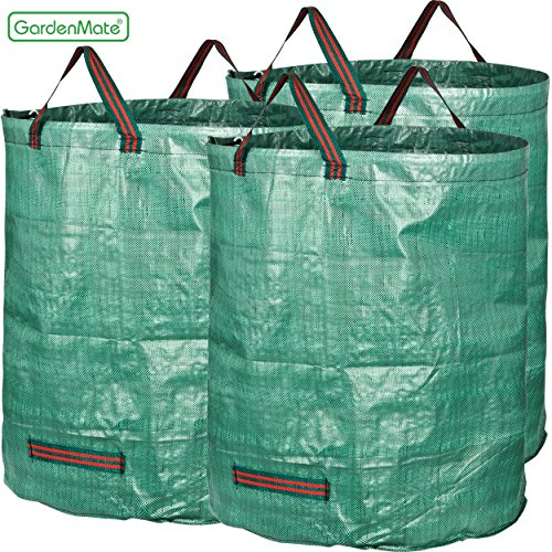 GardenMate 3-Pack 72 Gallons Garden Waste Bags (H30, D26 inches)