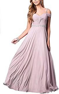 a6a54c1ce957 Roiii Women Cleb Prom Formal Casual Party Cocktail Wedding Evening  Sleeveless Ruched Neck High Waist Chiffon