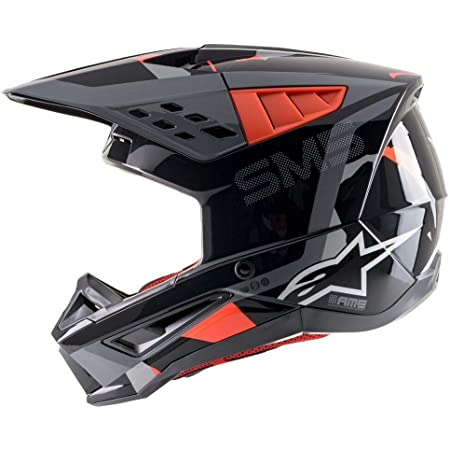 S-M5 ROVER HELMET ECE/DOT (L, ANTHRACITE RED FLUO GRAY)