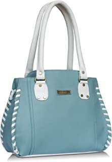 Fantosy women alliya shoulder bag (blue and White) (FNB-821)