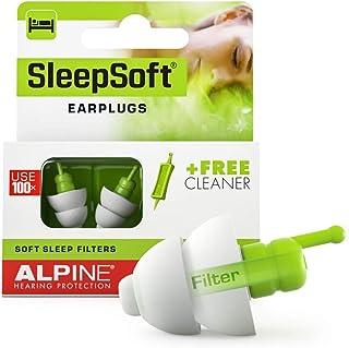 Alpine SleepSoft Sleep Ear Plugs – Sleeping Earplugs Reduce Noises and Improve Sleep - Ultra Soft Filter Ea...