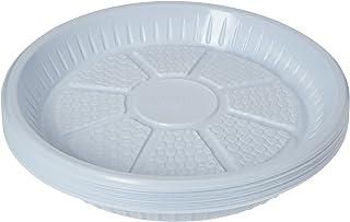 """Hotpack Premium Quality disposable Plastic Plates 9""""- 25Pcs (6291101711115)"""