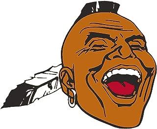 Atlanta Braves Indian MLB - Sticker Graphic - Auto, Wall, Laptop, Cell, Truck Sticker for Windows, Cars, Trucks