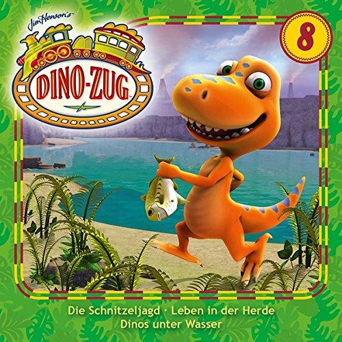 Folge 08: Schnitzeljagd/ Leben in der Herde/ Dinos unter Wasser (Der Dino-Zug)
