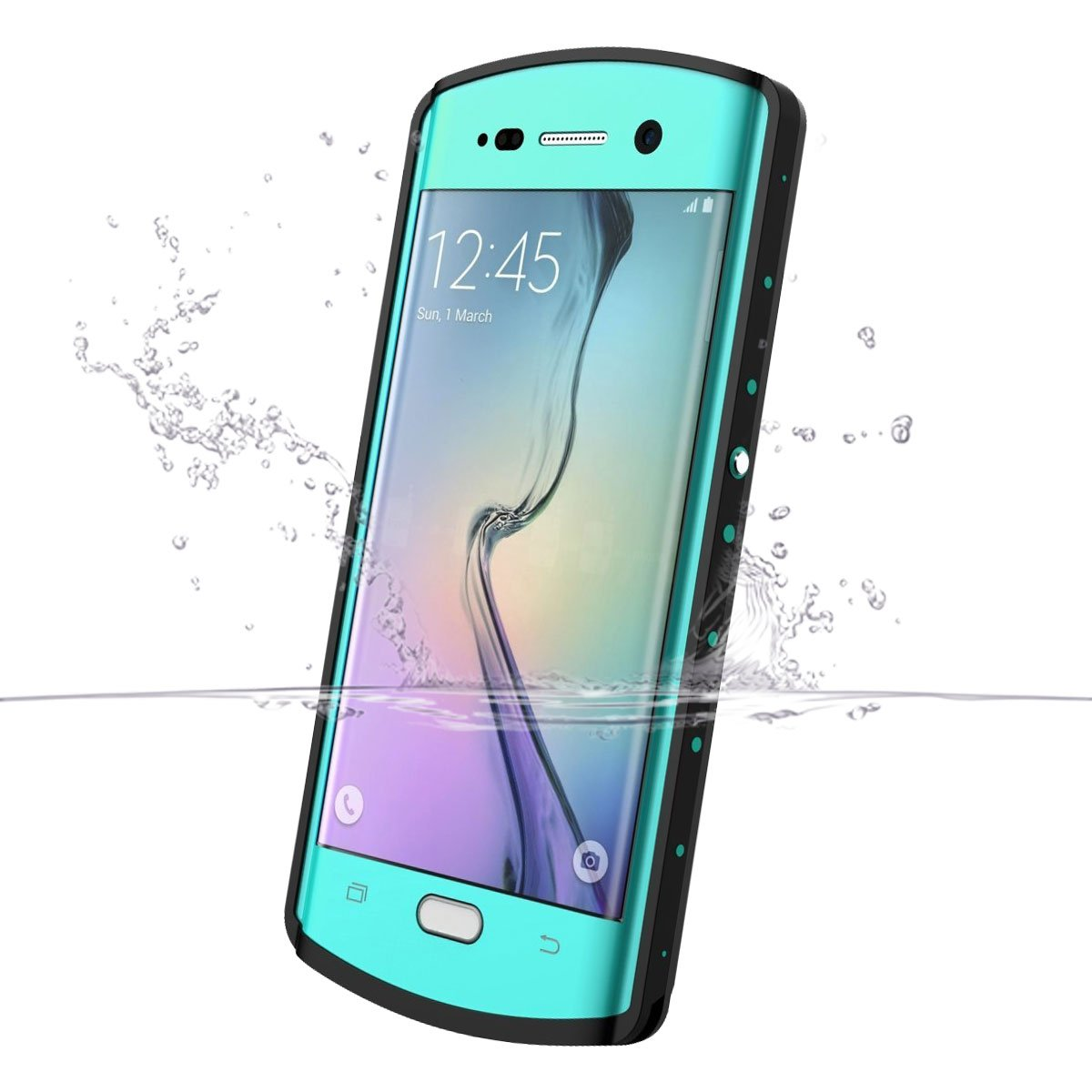 samsung galaxy s6 edge plus case waterproof amazon com