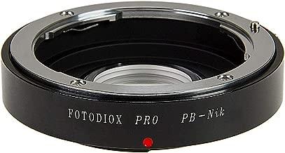 Fotodiox Pro Lens Mount Adapter, Praktica B-System (Also Know as PB) Lens to Nikon DSLRs Camera, PB-Nikon Pro