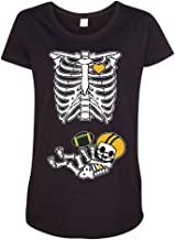 Baby Skeleton Green Bay Football Maternity DT T-Shirt Tee