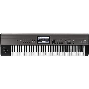 KORG キーボード シンセサイザー KROME EX クローム 73鍵 音楽制作 ステージ ライブパフォーマンス カラータッチパネル搭載