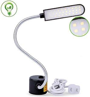 EVISWIY Sewing Machine Light LED Lighting (30LEDs) 6 Watt for Workbench Lathe Drill Press..
