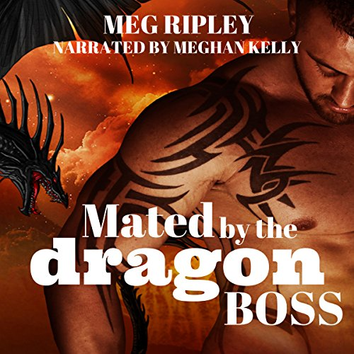 Mated by the Dragon Boss audiobook cover art